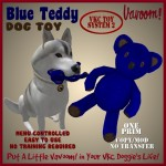 Vavoom! Blue Teddy Dog Toy Advert