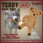 Vavoom! Teddy Dog Toy Advert
