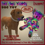 Vavoom! TieDye Teddy Dog Toy Advert