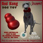 Red Kong Toy advert